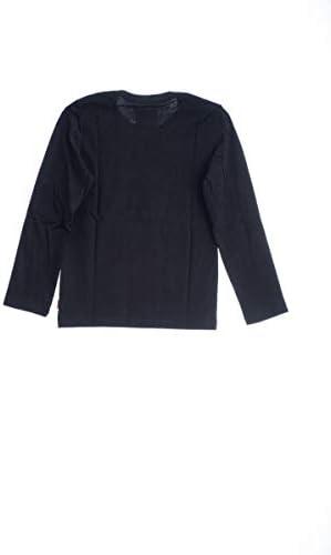 Levi's Camiseta de Manga Larga Color Negro para Niño