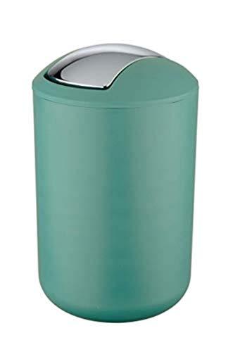 Wenko 23583100 Brasil-Papelera L, Color Verde, 19,5 x 31 cm