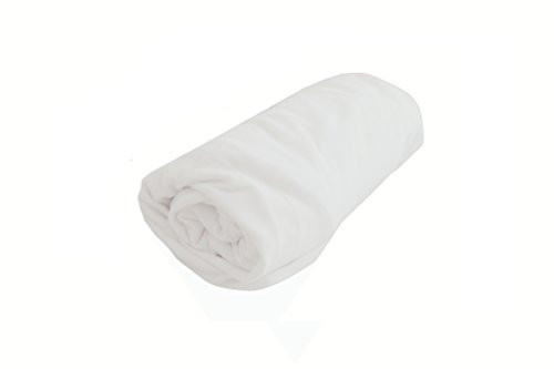 DOMIVA Drap-Housse Imperméable Lit Cododo Blanc 50 x 85 cm
