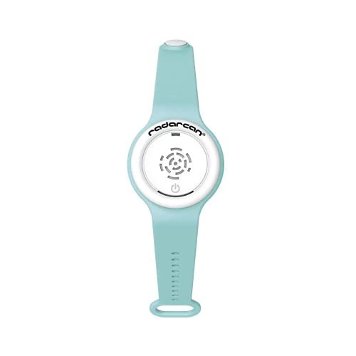 RADARCAN R-100 Plus Portable Electronic Mosquito Repeller, Premium ultrasonic Repellent Bracelet / Watch, Highly Effective. Eco-Friendly. Baby, Kids and Adults. All Outdoor Activities (Turquoise)