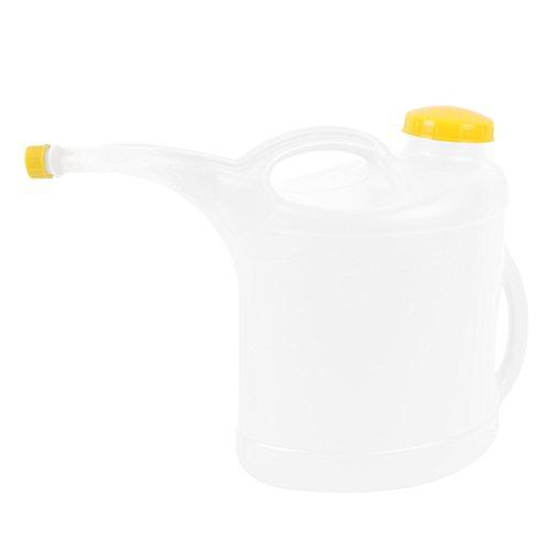 10 Liter Frischwasser Kanne, Kunststoff, gebogener Hals, zwei Griffe, großer Einfüllstutzen ideal für Wohnwagen und Wohnmobil