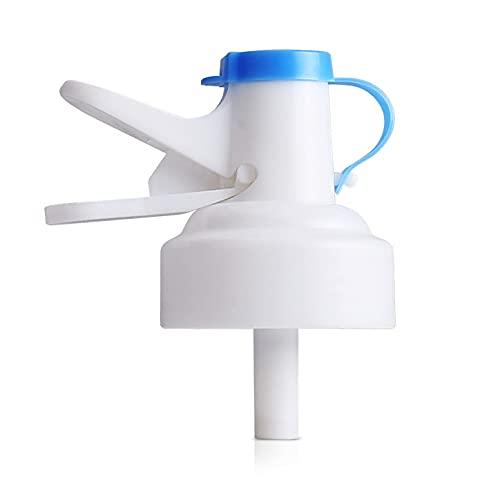 Water Dispenser Valve for (53-55 mm) Threaded Drinking Bottle, Reusable Water Jug Cap Plastic Spigot Faucet, (Pack of 2 Pcs).