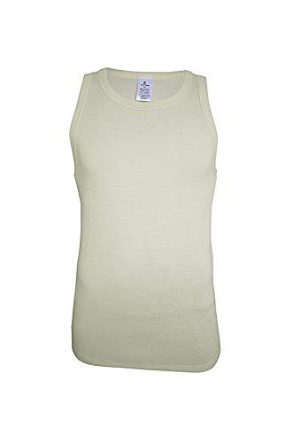 Utenos 100% Merino Wol Heren ThermoActive Mouwloos Vest Shirt Gemaakt in EU