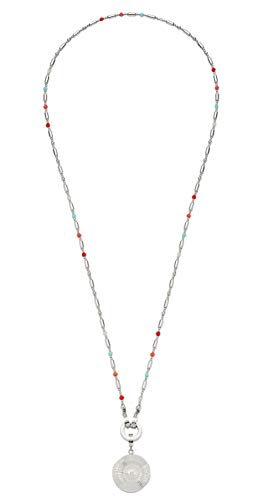 Leonardo Jewels vaporoso darlins set collar Lang imitationsperle vidrio 90 cm
