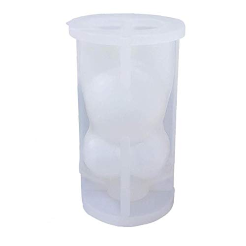 Molde de la Vela 3D Cuerpo de la Vela del Molde de Silicona Torso aromaterapia moldea DIY Vela Que Hace el Arte para Adultos