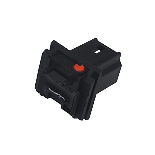 ZEALfix Interruptor de liberación de la compuerta trasera botón de maletero 6554V5 para Xsara Picasso C4 Picasso Peuge0t 206 207 307 308 407 5008 Citr0en C3 C4