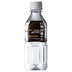 白神山美水館 白神山地の水 (黒ラベル) 350mlペットボトル×24本入×(2ケース)