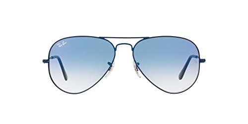 Ray-Ban Gafas de sol aviador con marco de metal no polarizadas