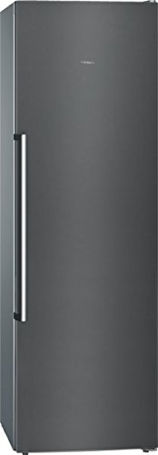 Siemens GS36NAX3P Gefrierschrank / A++ / 186 cm / 237 kWh/Jahr / 255 L Kühlteil / Supercooling / Türen black Inox-Anti Fingerprint