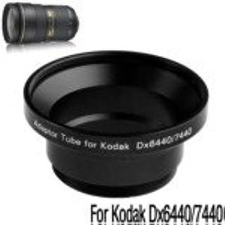 Digital Camera Adapter Tube Ring for Kodak DX6440//DX7440 Black