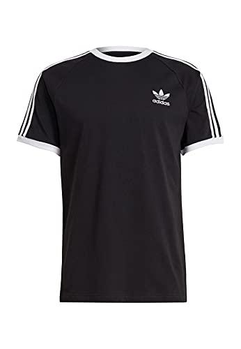 adidas GN3495 3-Stripes Tee T-Shirt Uomo Black M