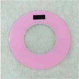 sufengshop Báscula de salud de peso inteligente y precisa AliExpress American Amazon báscula electrónica transfronteriza báscula redonda rosa