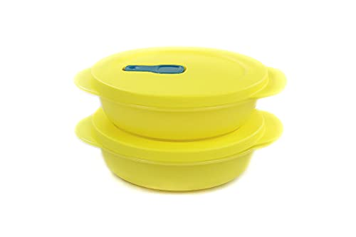 Tupperware - Microonde CrystalWave Plus Fix 400 ml (2) giallo