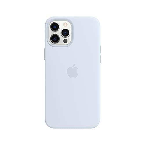 Apple SilikonHülle mit MagSafe (für iPhone 12 Pro Max) - Wolkenblau