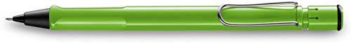 LAMY safari Druckbleistift 113 – Moderner Bleistift in der Farbe Grün mit markanten Griffmulden und zeitlosem Design – mit 0,5mm Feinstrichmine (LAMY M 41)