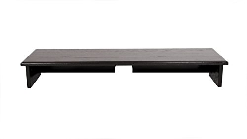 "Black Sound Bar TV Riser 40"" Wide x12 deep x 5 1/2"" high"