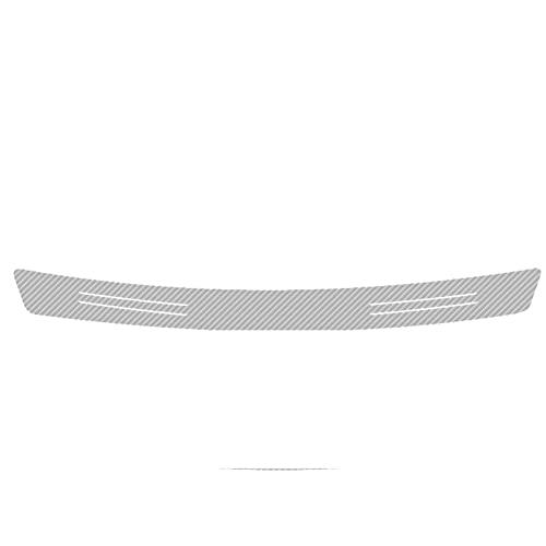 HHF-1 Luopan Accesorios de Coche 1pc Car Styling Trunk Protection Reflective DIY Decortion Sticker para Mazda Axela Atenza CX-3 CX-5 CX-8 MS Demio MPS 3 6 Ms (Color Name : Silver, Talla : 90cm x 7cm)