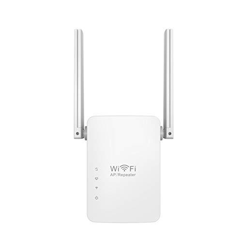 Yissma WiFi Repeater, 300M signaal WiFi versterker WiFi signaal versterker Dubbele antenne Network Repeater