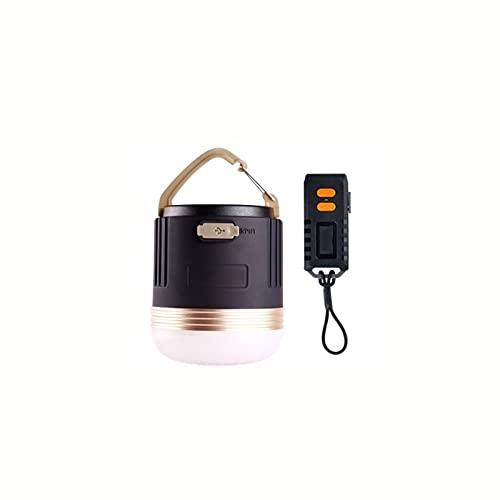 Ktimor Linterna Camping, Recargable Camping Lámpara & Banco De Energía 4Modos Lámpara De Campamento con Base Magnética Impermeable Portátil Luz De Emergencia para Pesca,Excursionismo