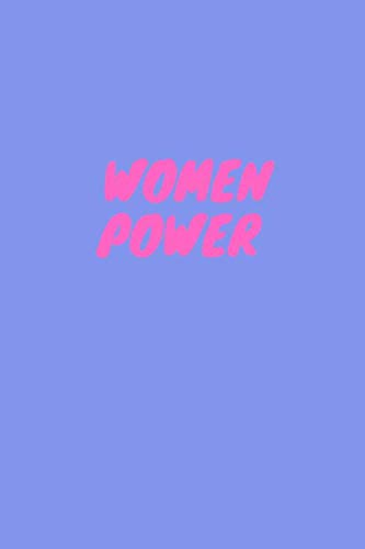 Women Power Notebook,  Organizer, Bullet Journal: Perfect  size 6x9,  Dot Graph Paper, 110 pages (Pastel)