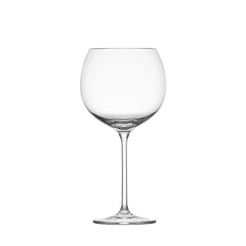 Schott Zwiesel Tritan Crystal Note Stemware, Set of 6 Red Wine Glass, 23-Ounce, Clear