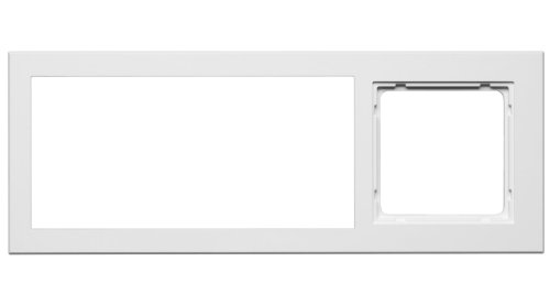 Honeywell Home PEHA MP3 AudioPoint Nova-Design Kombi-Rahmen 3-fach, Rahmen Reinweiß