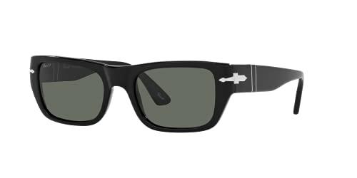 Persol Gafas de Sol PO 3268S Black/Green 53/20/145 unisex