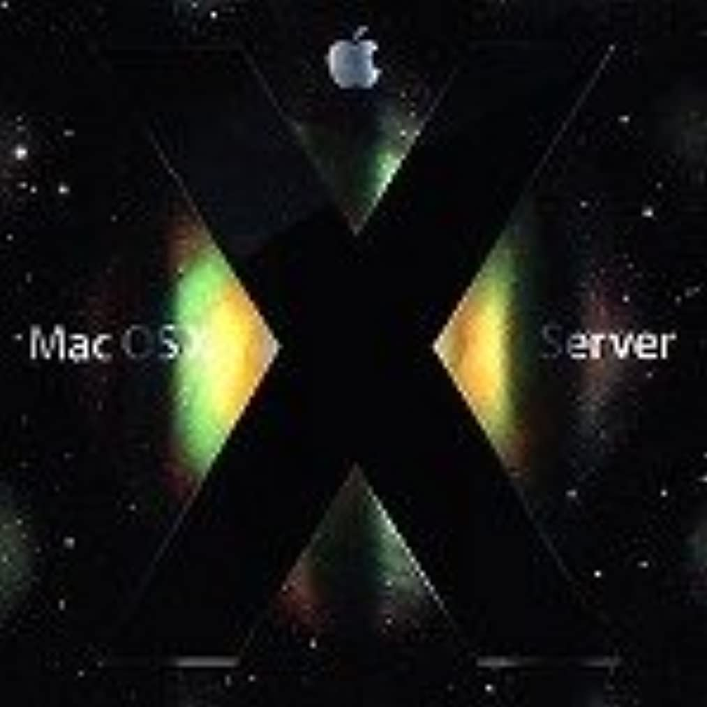終了しましたウイルス前提Mac OS X Server v10.5 Leopard 10クライアント
