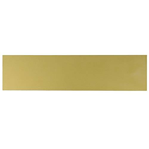 Messingplatte, 200 x 50 x 2 mm