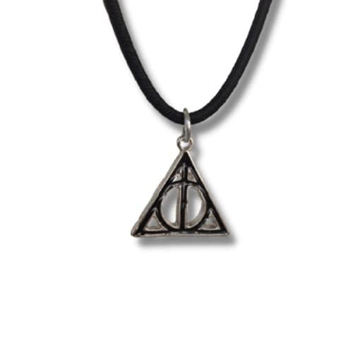 Colar / Pingente Harry Potter Relíquias da Morte - Presente Harry Potter