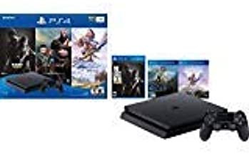 $499 » Newest Flagship Sony Play Station 4 2TB SSHD Only on Playstation PS4 Console Slim Bundle - 3X Games (The Last of Us, God of War, Horizon Zero Dawn) 2TB SSHD Fast Boot Incredible Games -Jet Black