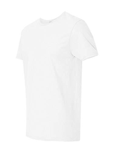 Fruit of the Loom Premium Tee Single, Camiseta manga corta para Hombre, Blanco (Bianco 2), Large