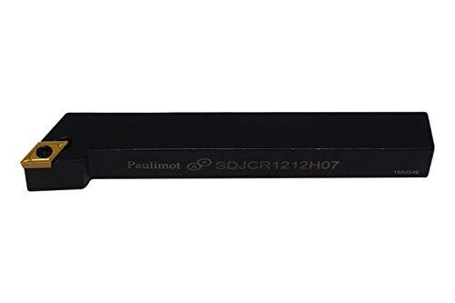 PAULIMOT Drehmeißel mit Schneidplatte 12 x 12 mm SDJCR1212H07