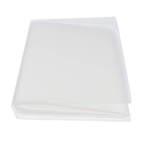 IPOTCH Bolsillo para álbum de Fotos de Bebé 80 Hojas 5x3.5'2 Por Página Libro de Tarjetas Postales - Blanco