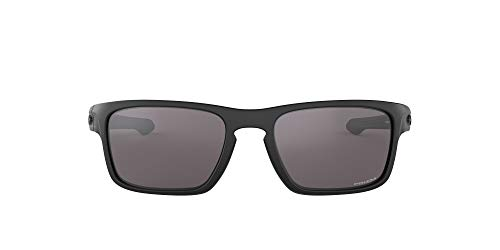 Oakley Men's Sliver Stealth Asian Fit Sunglasses,OS,Matte Black/Prizm Grey