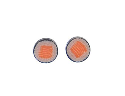 Sushi Ohrstecker Stecker Miniblings Ohrringe Essen Japan Maki Fisch Asien 10