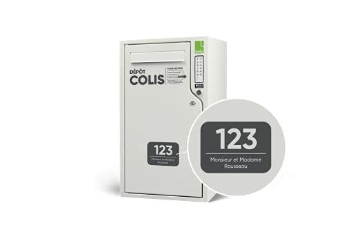 Boîte à colis connectée pour lettres et colis, boks ONE, Boks - Boîte aux lettres colis - Bluetooth Low Energy (Blanc RAL 9010 (sérigraphie personnalisable))