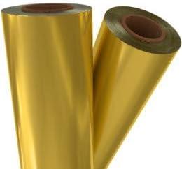 Premium Gold Matte Metallic Laminating/Toner Fusing Foil (8