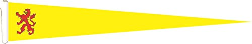 U24 langwimpel Zuid-Holland vlag vlag wimpel 200 x 40 cm premium kwaliteit