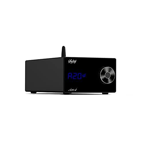 Sabaj A20d D/Aコンバーター Bluetooth 5.0対応/「ES9038PRO」内蔵/MQA・ハイレゾ・DSD音源対応 高音質 USB DAC