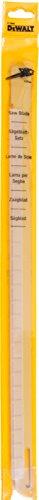 DeWalt Alligator- Spezialsägeblätter (Arbeitslänge 425 mm, Zahnmaterial: HM, für einfache Schnitte in Porenbeton, Gips und Yalisteine, Festigkeitsklassen PPW2, 4 und 6) DT2965