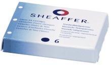 Sheaffer Tintenpatronen BLAU Patronen Cartridges
