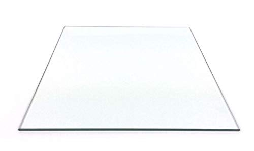 without LT-3d, 1pc 6'' X 9'' (150mm X 230mm) Flat Borosilicate Glass Plate/Bed For Flashforge Creator Replicator 3D Printer Parts