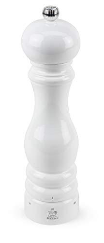 Peugeot Paris Manuelle Salzmühle, Mahlgradeinstellung u'Select, Höhe: 22 cm, Holz, Weiß, 27834