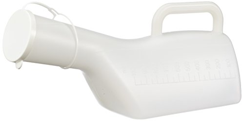 Nottingham Rehab Supplies M76149 Männliches Urinal, Langhalsig