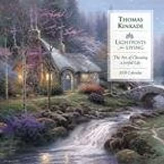 Thomas Kinkade Lightposts For Living 2008 Calendar: The Art of Chosing a Joyful Life