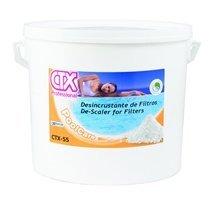 CTX-55 Desincrustante sólido de filtros 15 KG