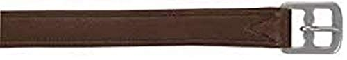 Kerbl 324037 Steigbügelriemen Soft Deluxe, Leder, braun, 150 cm/25 mm