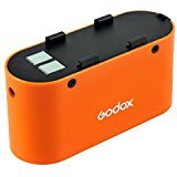 Godox PB960 4500mAh Multipurpose lithium Batteries Power backup extra Battery Pack for Flash Speedlite (Orange)