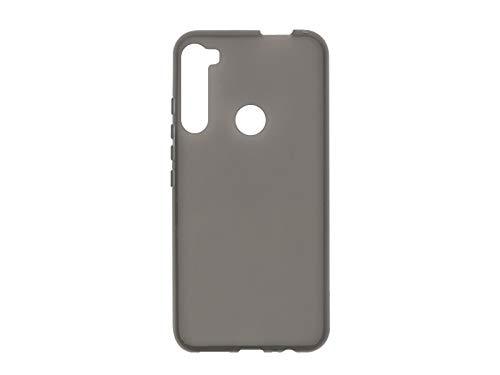 etuo Hülle für Motorola One Fusion Plus - Hülle FLEXmat Hülle - Schwarz Handyhülle Schutzhülle Etui Hülle Cover Tasche für Handy